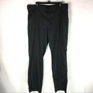 Nike Golf Dri-Fit Casual Golf Pants Sz 36 Black